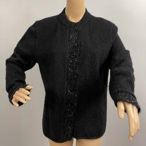 Escada Wool beaded swetater